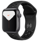 Apple Watch Series 5 GPS 40mm Space Grey Aluminum Case with Anthracite Black Nike Sport Band MX3T2