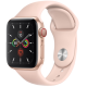 Apple Watch Series 5 GPS+ Cellular 40mm Gold Aluminum Case with Pink Sand Sport Band MWX22